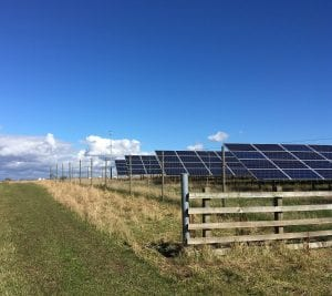 Kinblethmont Solar park